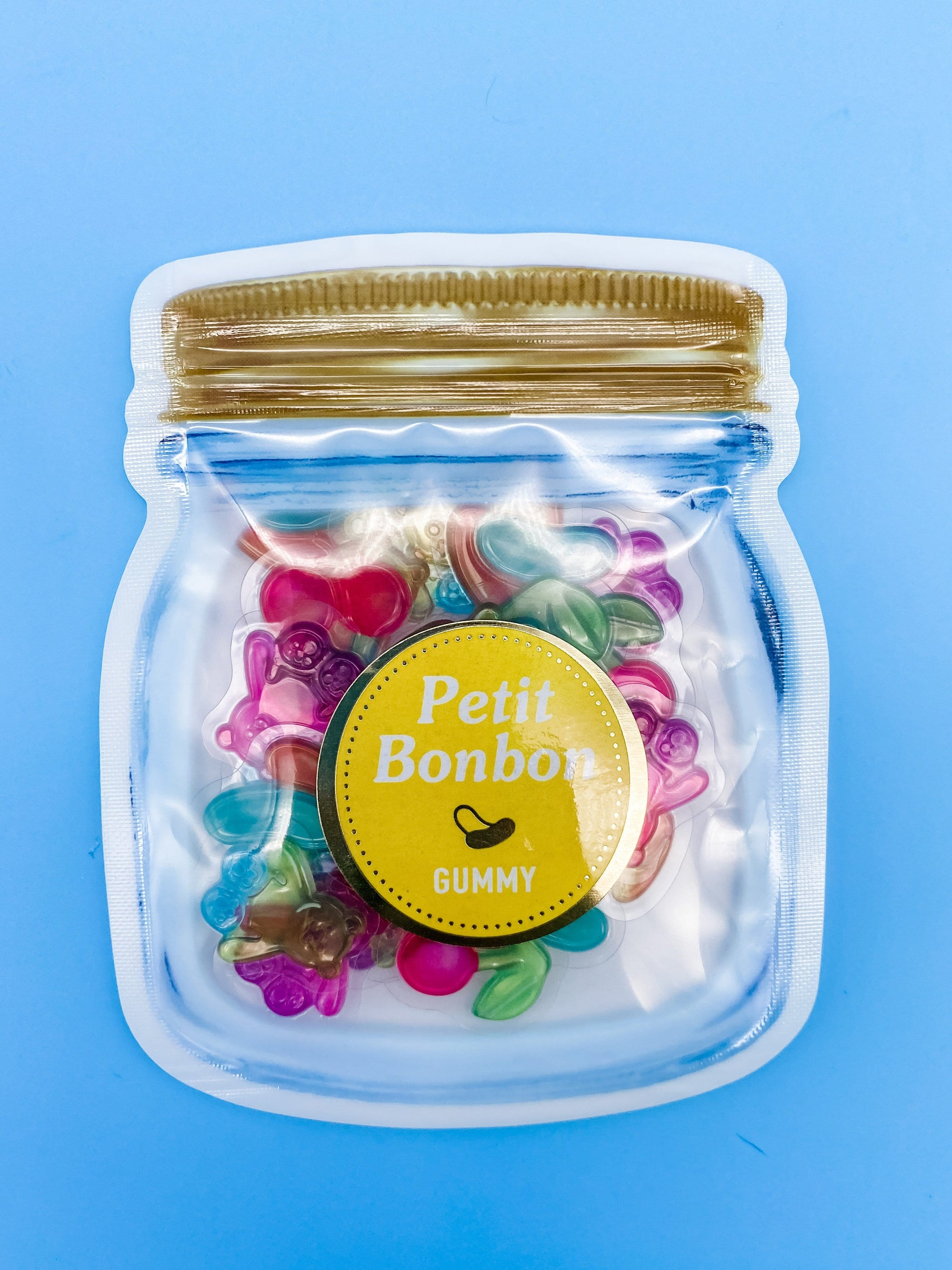 Petit Bonbon Gummy Sticker Flakes Sack
