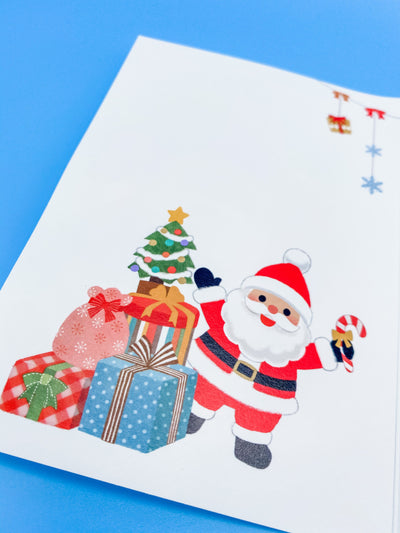 Santa Claus Merry Christmas Card