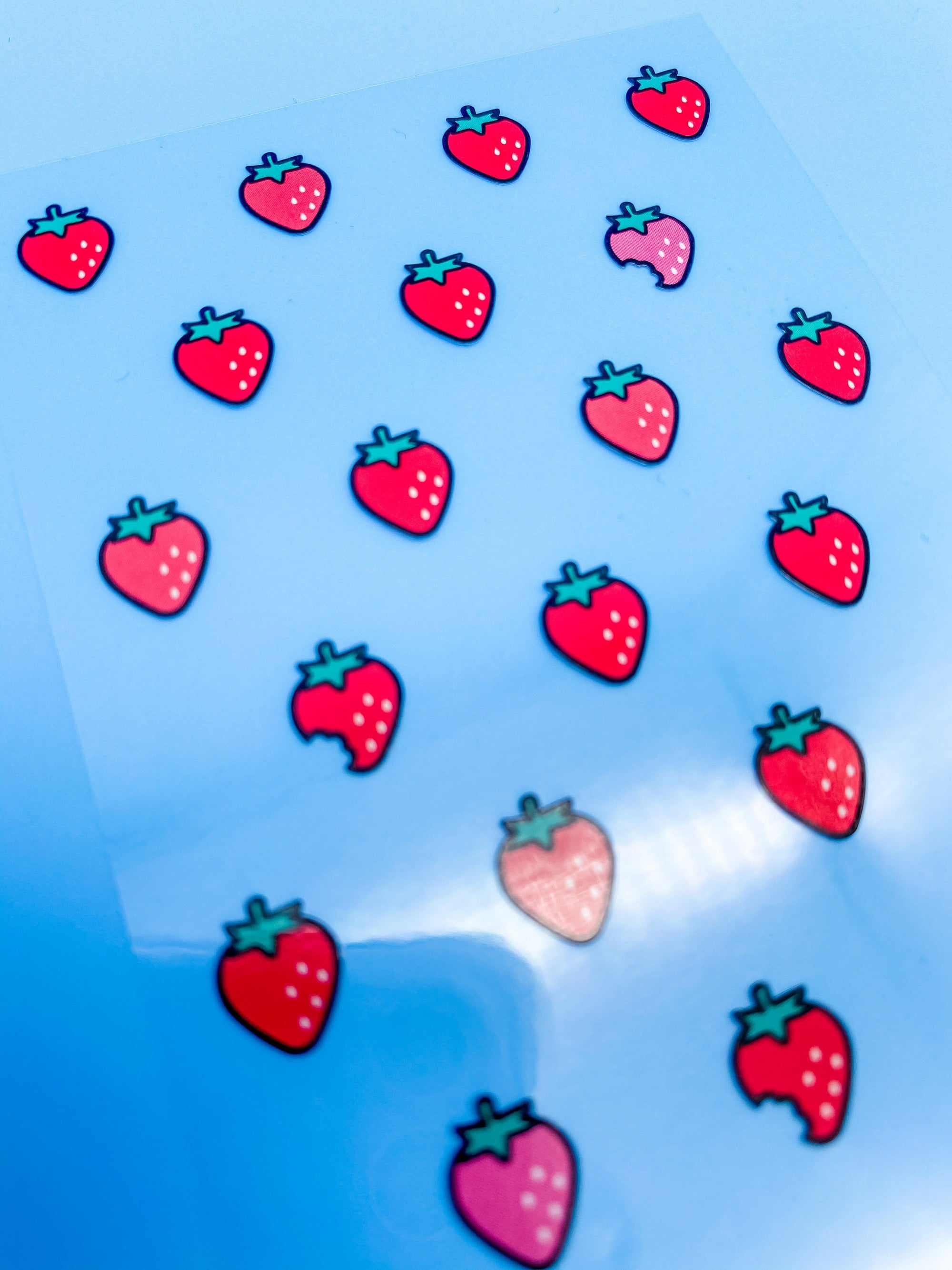 Tiny Strawberry Choa Choa Sticker Sheet