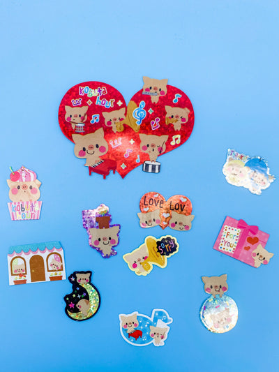 The Little Pigs Sticker Flakes