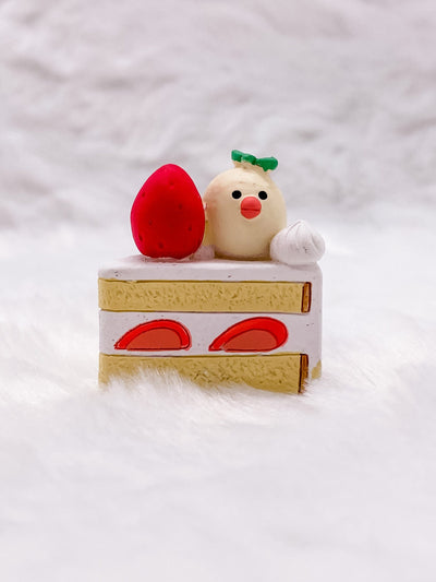 Java Sparrow Cake Slice: Very Mattary Strawberry by Decole