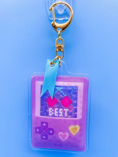Retro Video Game Jelly Keychain