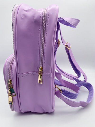 Lavender Ita Bag Double Panel Backpack