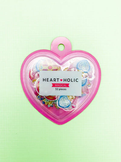 Heart-Holic Magical Girl Sticker Flakes Sack