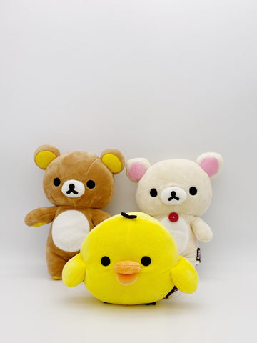 Rilakkuma and Friends Small Plush Set