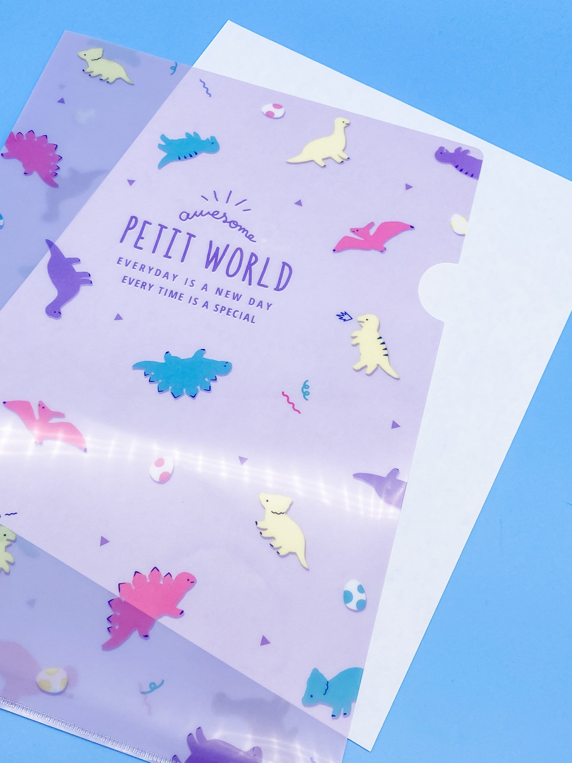 Petit World Dinosaurs File Folder
