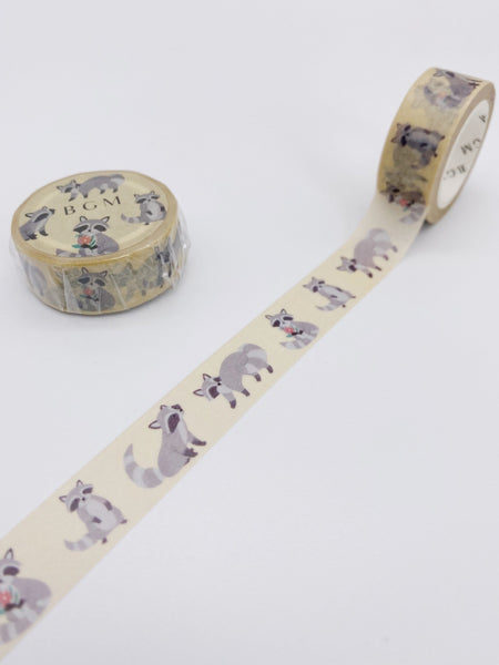 Raccoon Washi Tape (AA00115)
