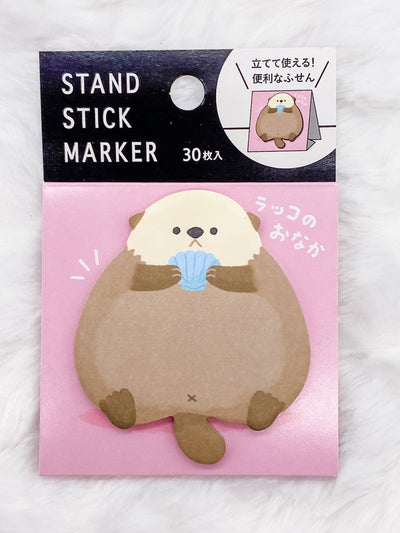 Otter Belly Stand-Up Sticky Notes