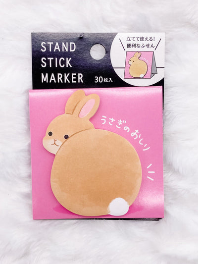 Bunny Rabbit Tail Stand-Up Sticky Notes