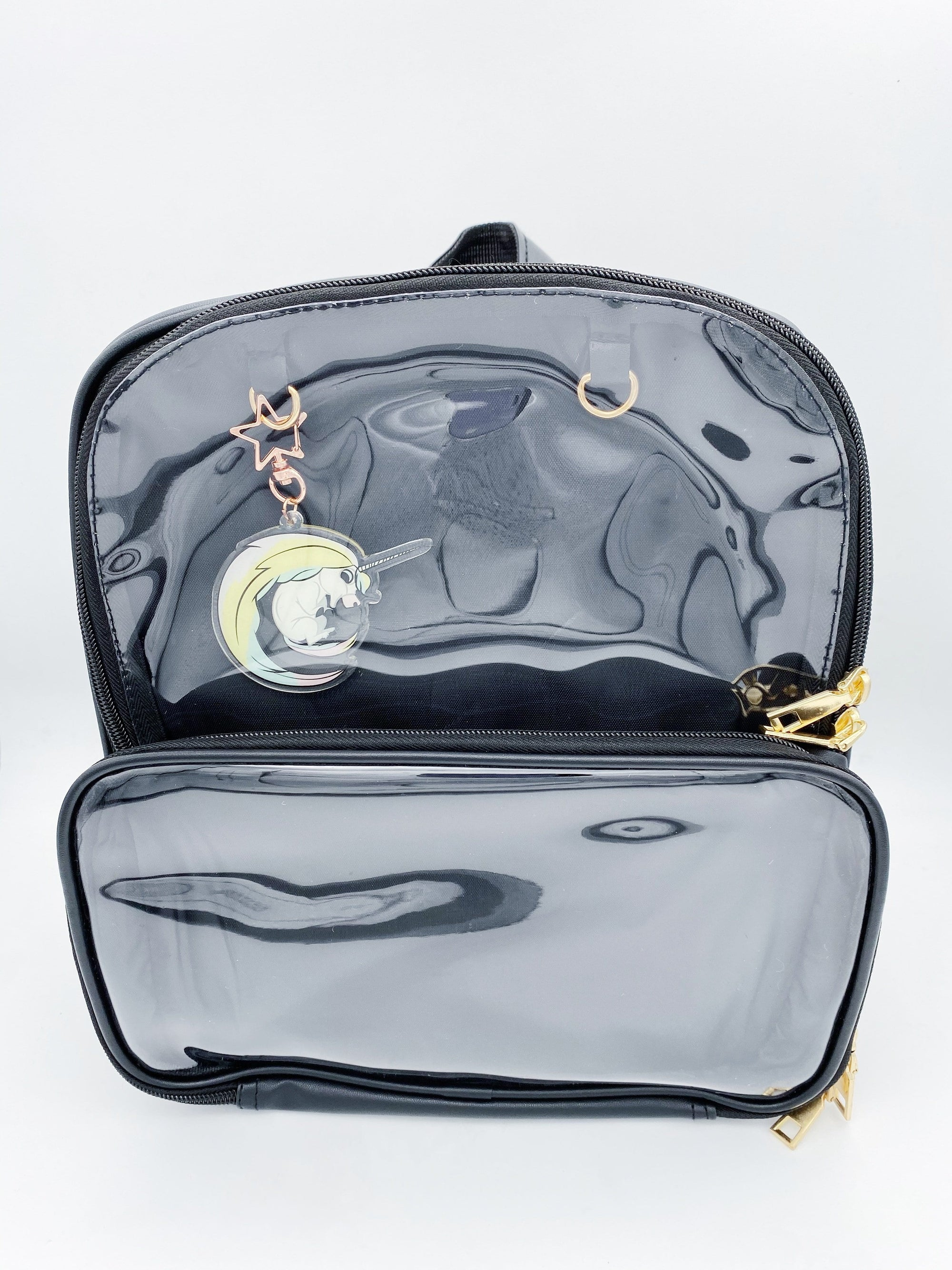 Black Ita Bag Double Panel Backpack