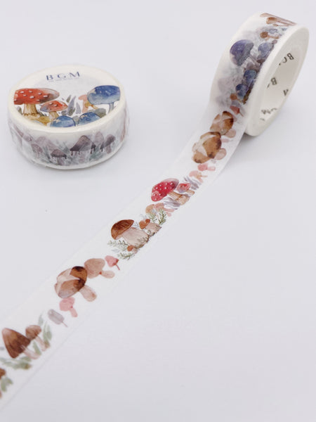 Mushrooms Washi Tape (AA00121)