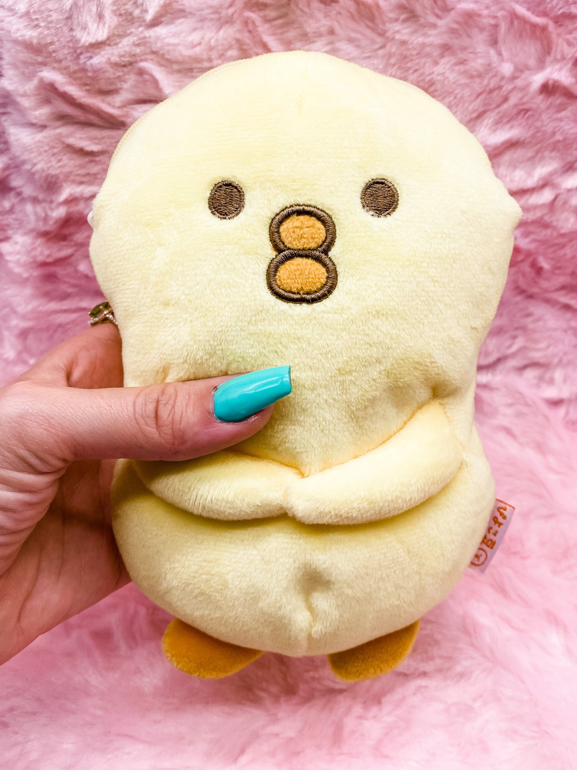 Piyokomame Chick Plush Pencil Pouch 30th Anniversary
