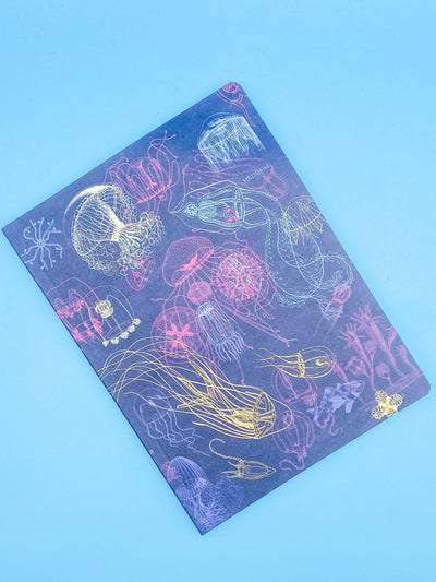 Jellyfish Softcover Lined Notebook