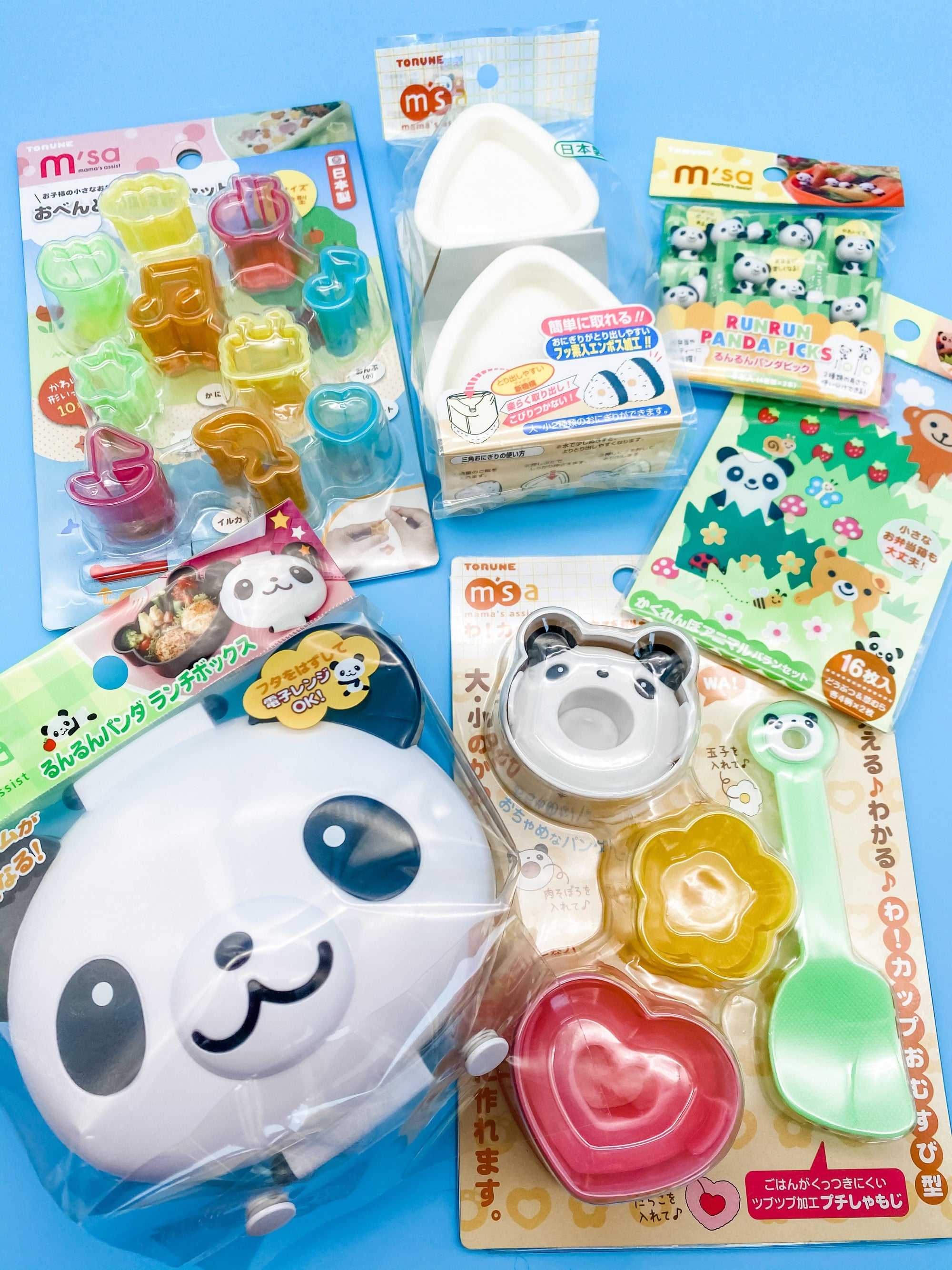Panda Bento Box Complete Kit with FREE Panda Picks