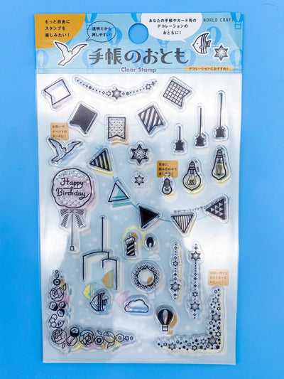 Garland Clear Stamp Sheet