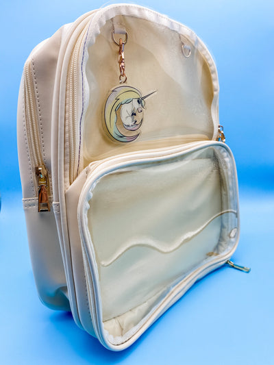 Ivory Ita Bag Double Panel Backpack