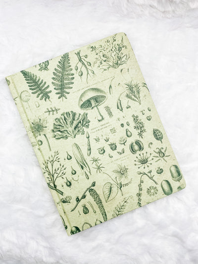 Plants & Fungi Hardcover Lined and Grid Journal