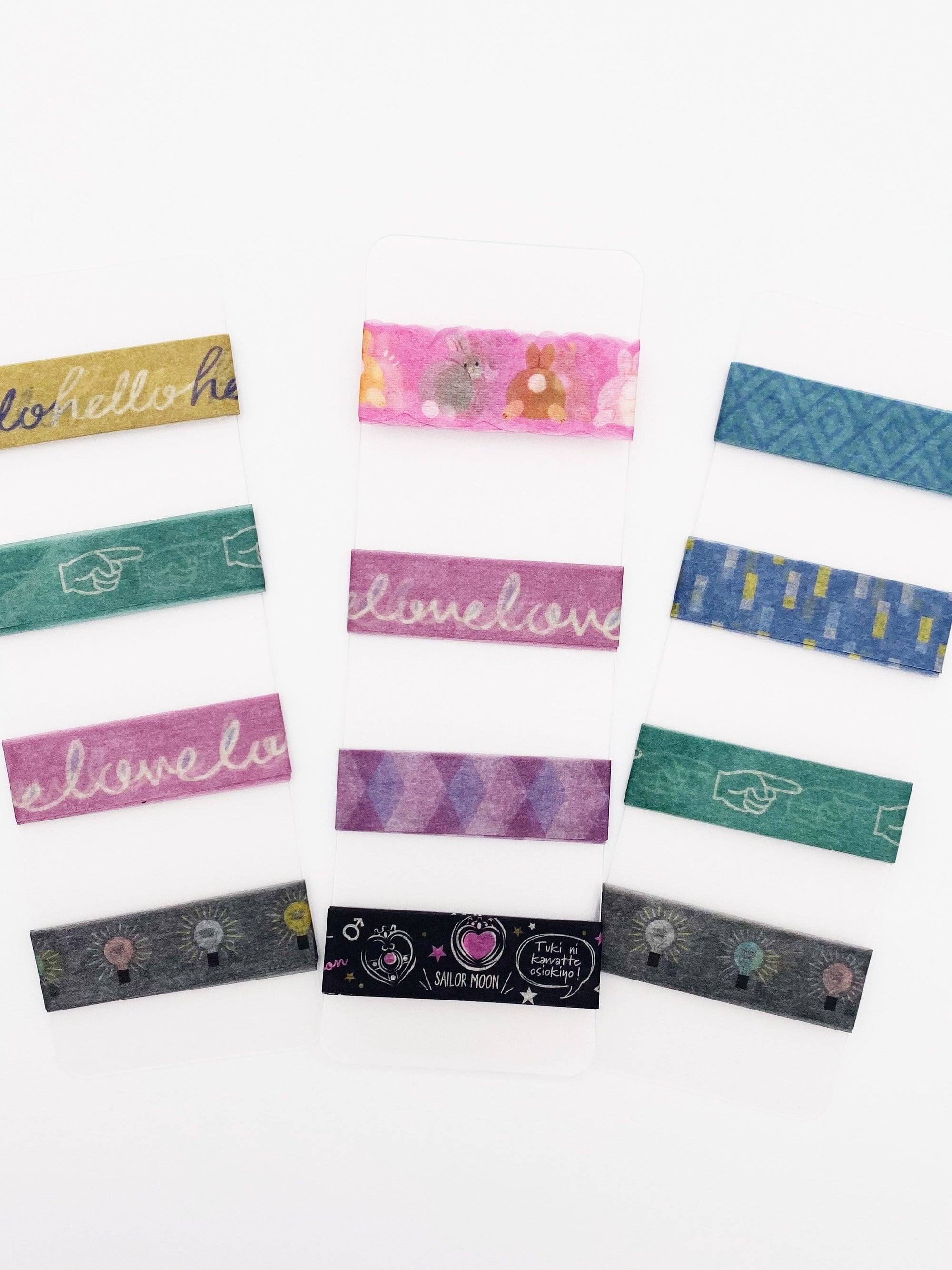 Washi Tape Sample Cards