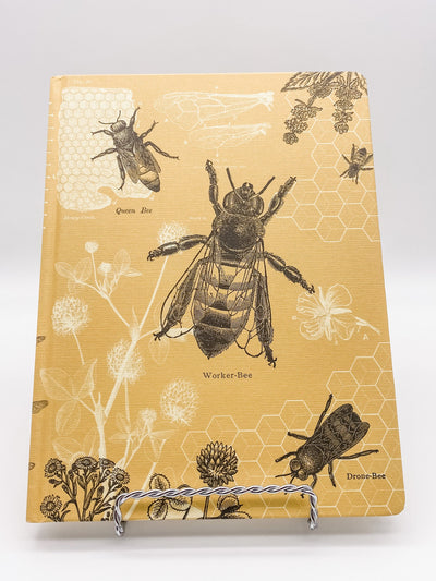 Bees Hardcover Dot Grid Journal