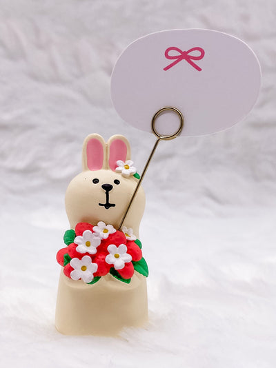 Strawberry Rabbit Card Holder: Very Mattary Strawberry by Decole