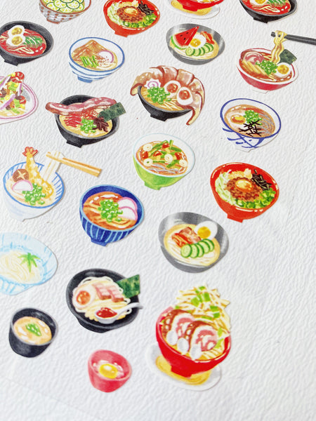 Foodies Japanese Noodles Sticker Sheet