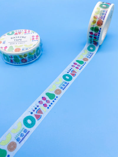 Whimsical Fruit Washi Tape