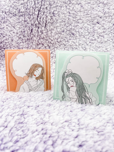 "Illustrated Series: ""Always Natural"" Stand-Up Sticky Notes"