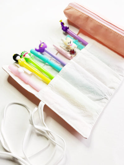 Roll-Up Pen and Pencil Case