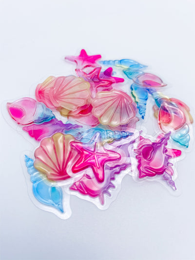 Petit Bonbon Seashells Sticker Flakes Sack