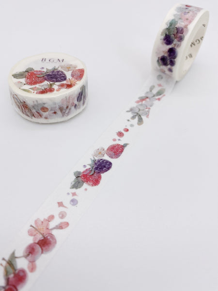 Berries Washi Tape (AA00117)