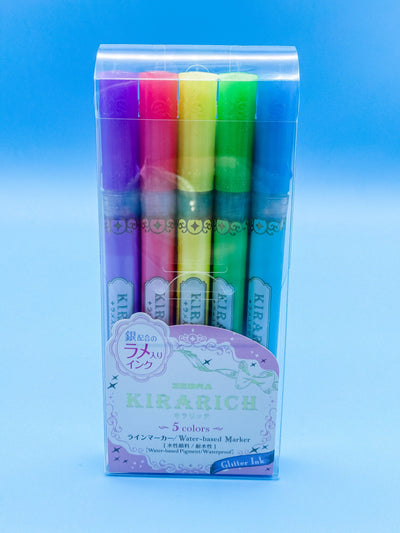 Glitter Highlighter Kirarich 5 Color Set