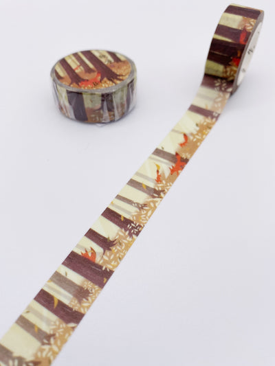 Foxes Washi Tape (AA00116)