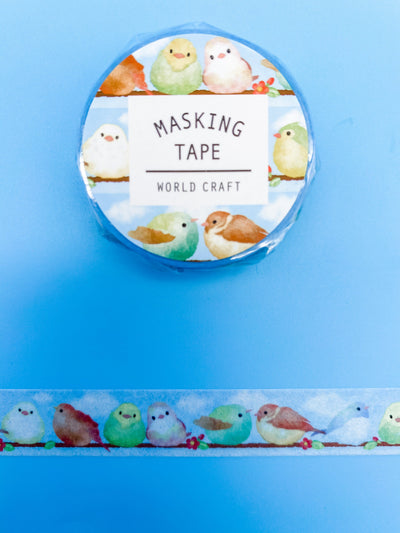 Birds on the Branch Washi Tape