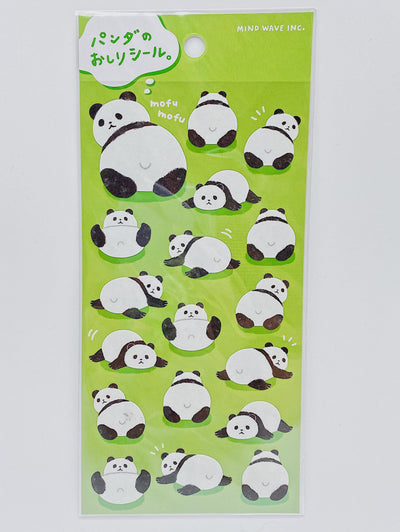 Panda Tail Stickers