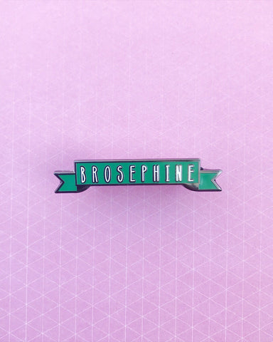 Brosephine Enamel Pin | Suzy Makes Things x Colorful Cute