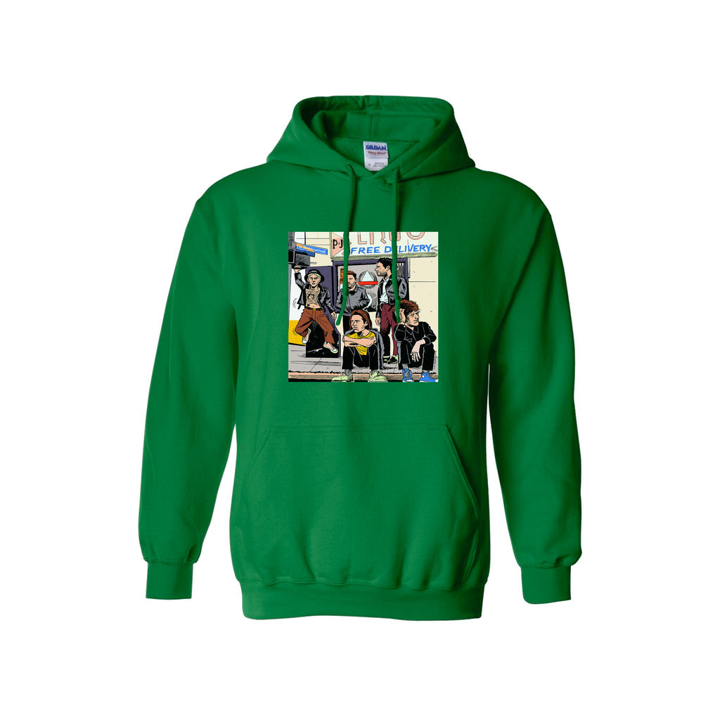 SELF TITLED - HOODIE - IRISH GREEN