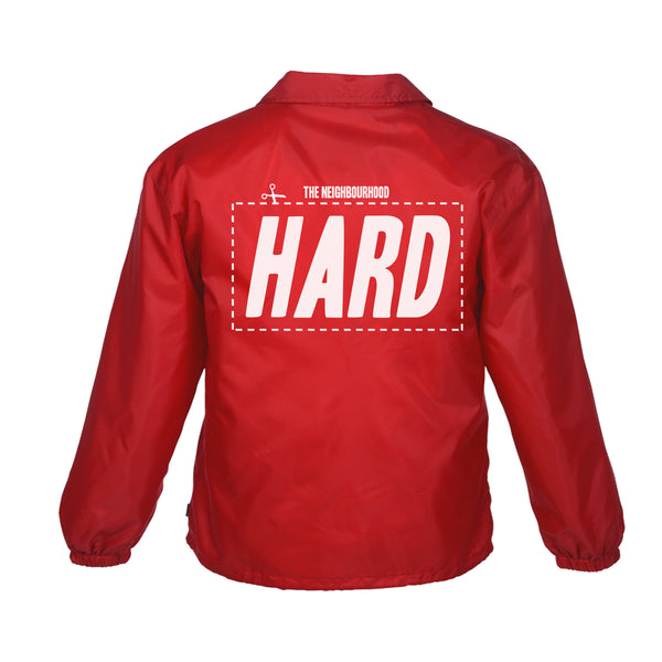HARD - COACH JACKET - RED