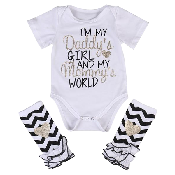 Im My Daddys Girl 2pcs Bodysuit My First Crush