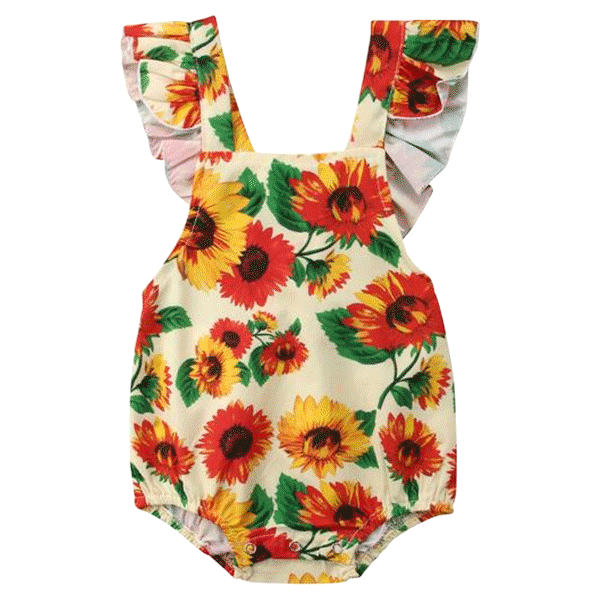 c39172dfcd6 Lillian Colorful Floral Romper – My First Crush