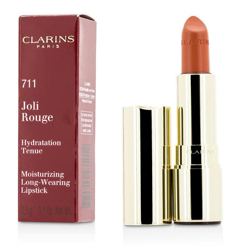 Clarins Joli Rouge (long Wearing Moisturizing Lipstick) - # 711 Papaya --3.5g-0.12oz By Clarins