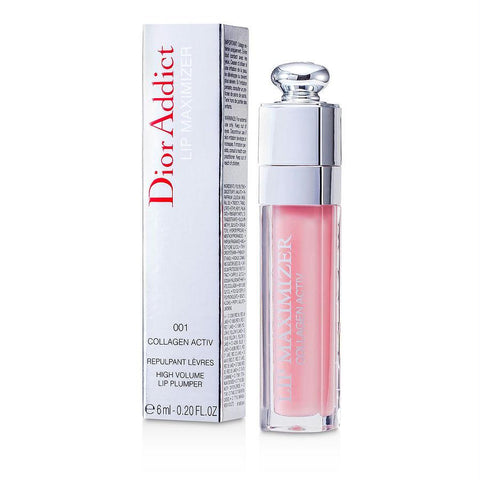 Christian Dior Dior Addict Lip Maximizer ( Collagen Activ Lipgloss ) - #001 Pink --6ml-0.2oz By Christian Dior
