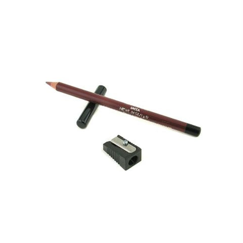 Perfetta lip pencil - no. 53 bacca --1g/0.04oz. This lip pencil is rich red cherry color that hydrates your slips while providing a defined look and preventing lipstick from bleeding or fading. Easy to draw on a delicate and thin line. Now time to Slip into something seductive with sexy.