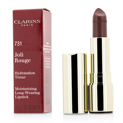 Clarins Joli Rouge (long Wearing Moisturizing Lipstick) - # 731 Rose Berry --3.5g-0.12oz By Clarins