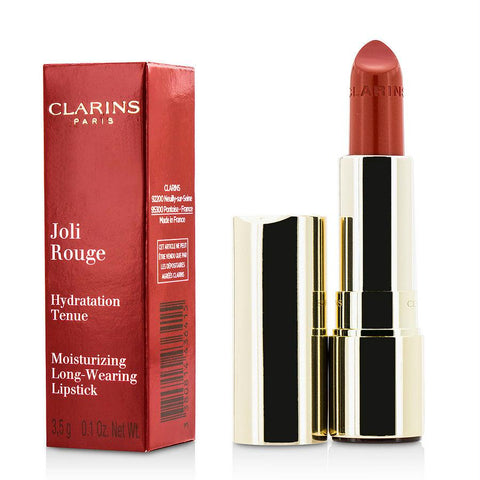 Clarins Joli Rouge (long Wearing Moisturizing Lipstick) - # 743 Cherry Red --3.5g-0.1oz By Clarins