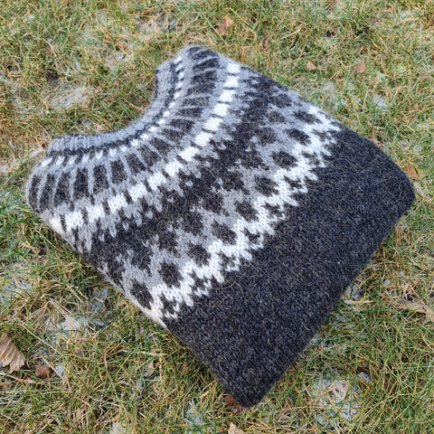 Icelandic Wool Sweater - Made in Iceland