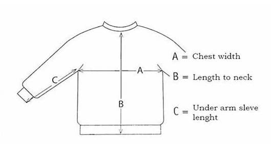 How to measure for an Icelandic wool sweater - Lopapeysa
