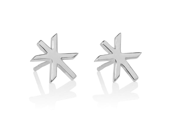 STRENGTH / MAGN SILVER EARRING STUDS, Alrún Earring - icelandicstore.is