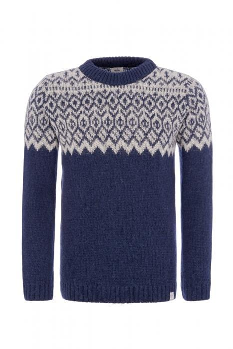Borg - Icelandic sweater (Blue), Kidka Sweater - icelandicstore.is