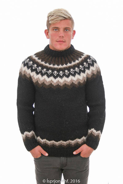Magni - Icelandic Sweater - Black, Icelandic Sweater Pullover - icelandicstore.is