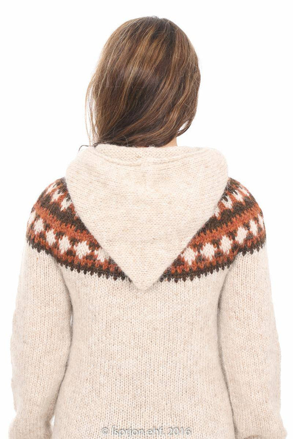 Iðunn - Icelandic Sweater - Ivory Heather - icelandicstore.is